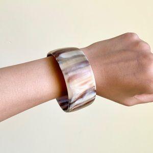 Ashley Pittman Natural Horn Bangle Bracelet